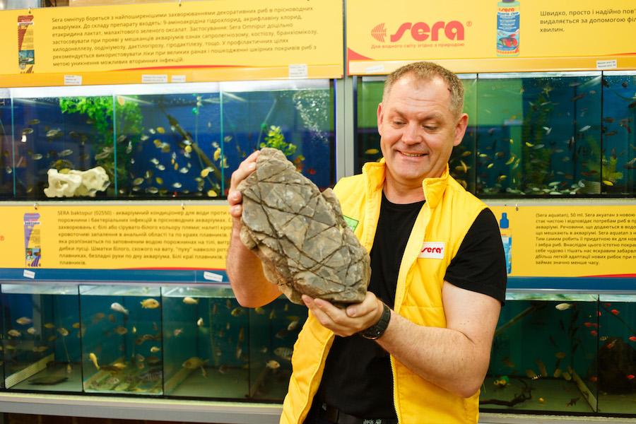 Камені для акваріуму